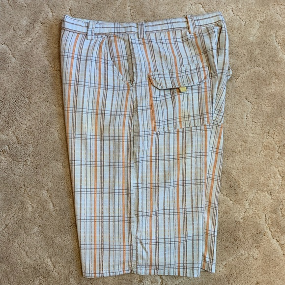 Other - Brooklyn Express men's plaid shorts size 36
